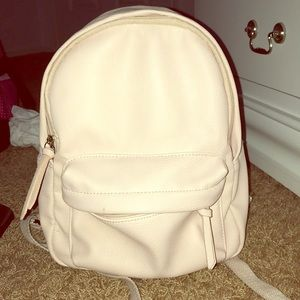 Pink small backpack for teens